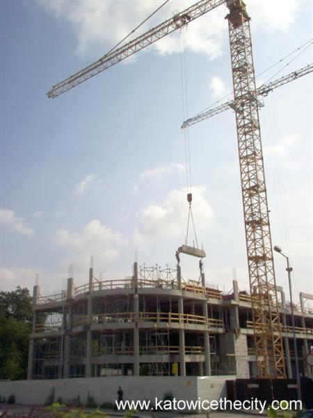 Katowice Business Point in progress