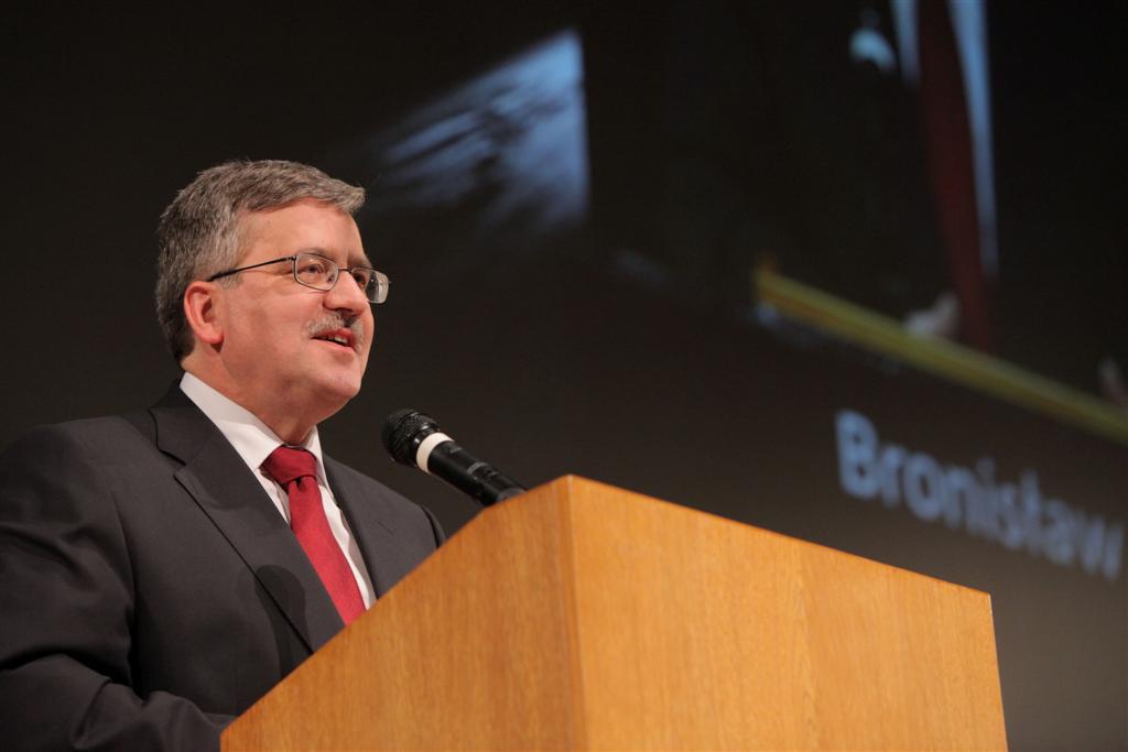 © PTWP Group SA, Bronisław Komorowski, acting President of Poland