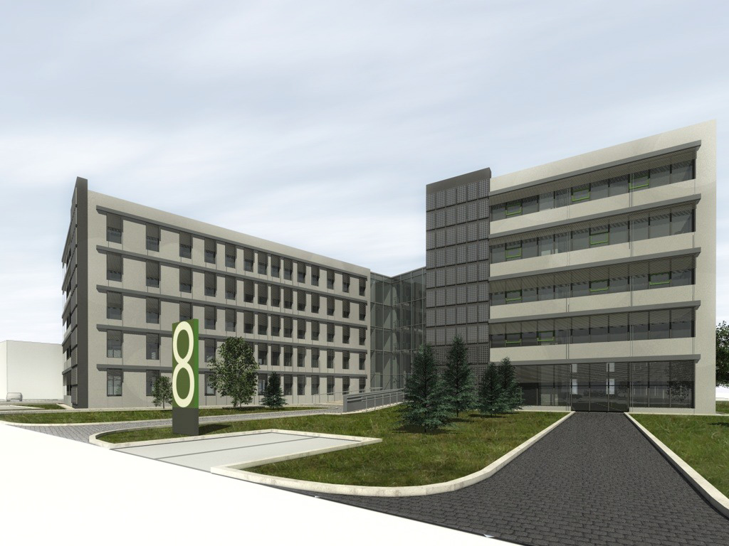 © Euro-Centrum; project of the passive building