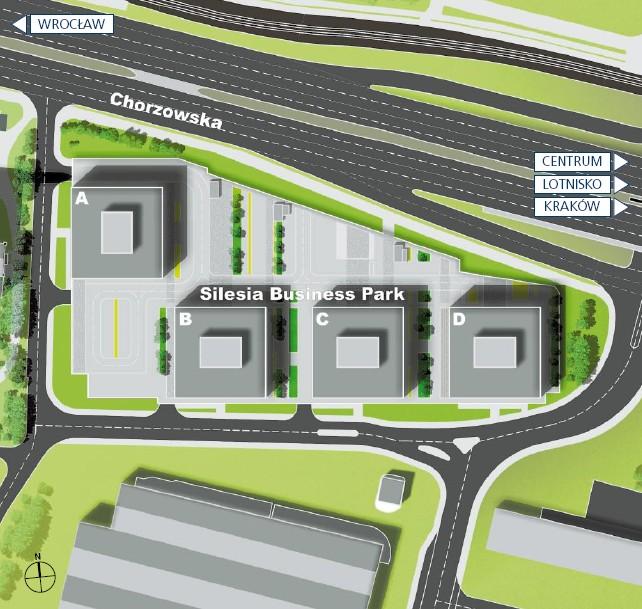 silesia_business_park_map