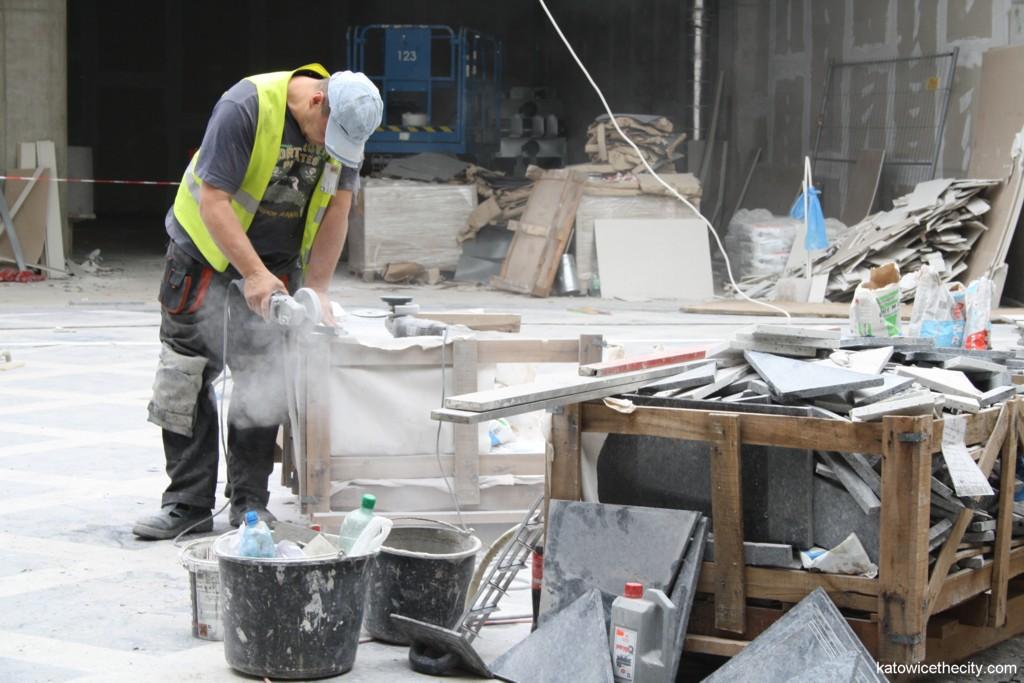 Construction work on new Silesia City Center