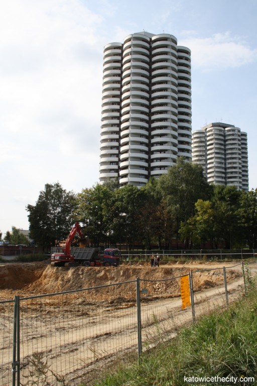 Construction work starts on 4 Towers