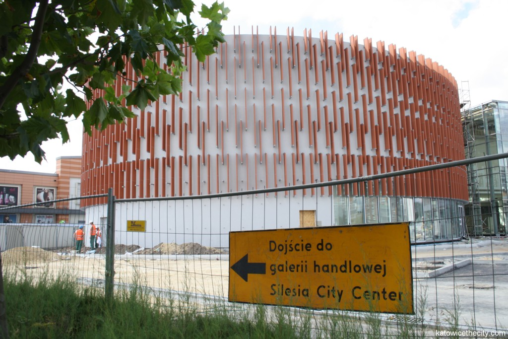 Works on new Silesia City Center