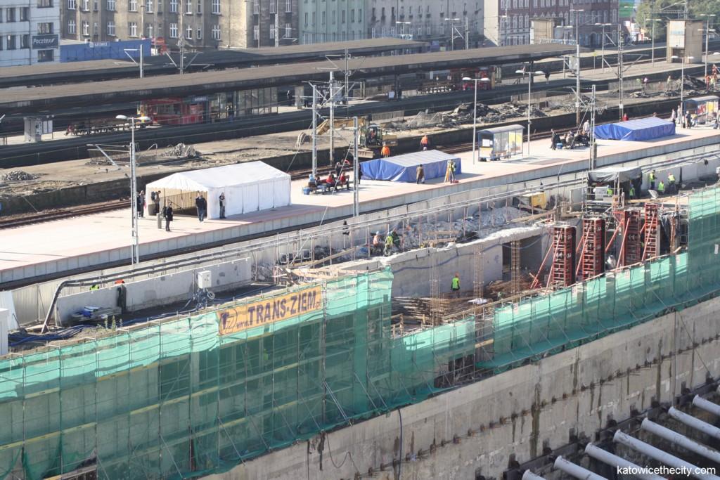 Railway Station's platform number 2 under redevelopment