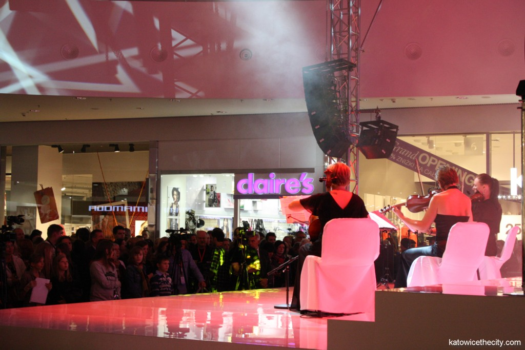 Opening of new Silesia City Center