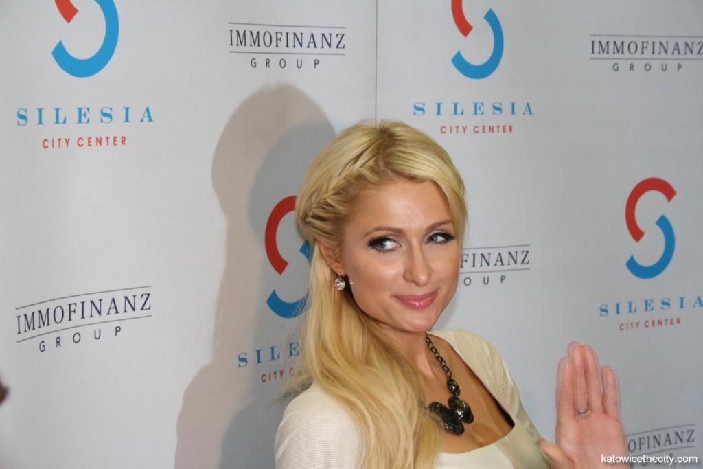 Paris Hilton during the opening