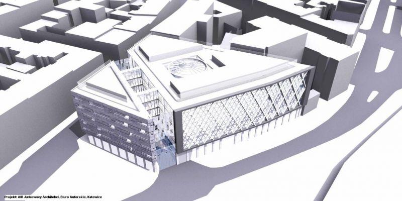 © AiR Jurkowscy Architekci; proposed plot arrangement