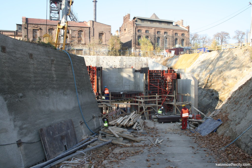 Works on the central hall