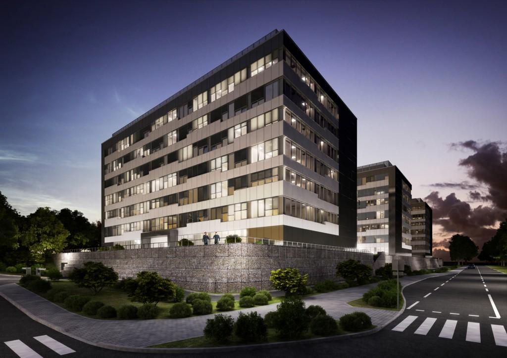 © Upper Silesian Industrial Park; visualization of GPP Business Park