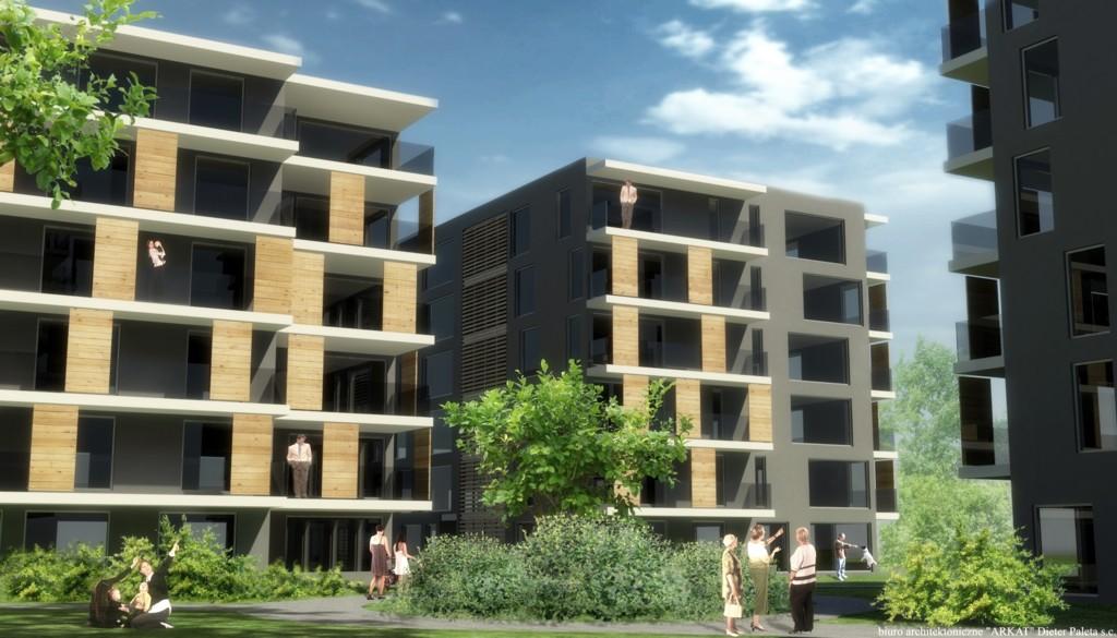 © JHM Development; planned housing estate in the Three Ponds Valley