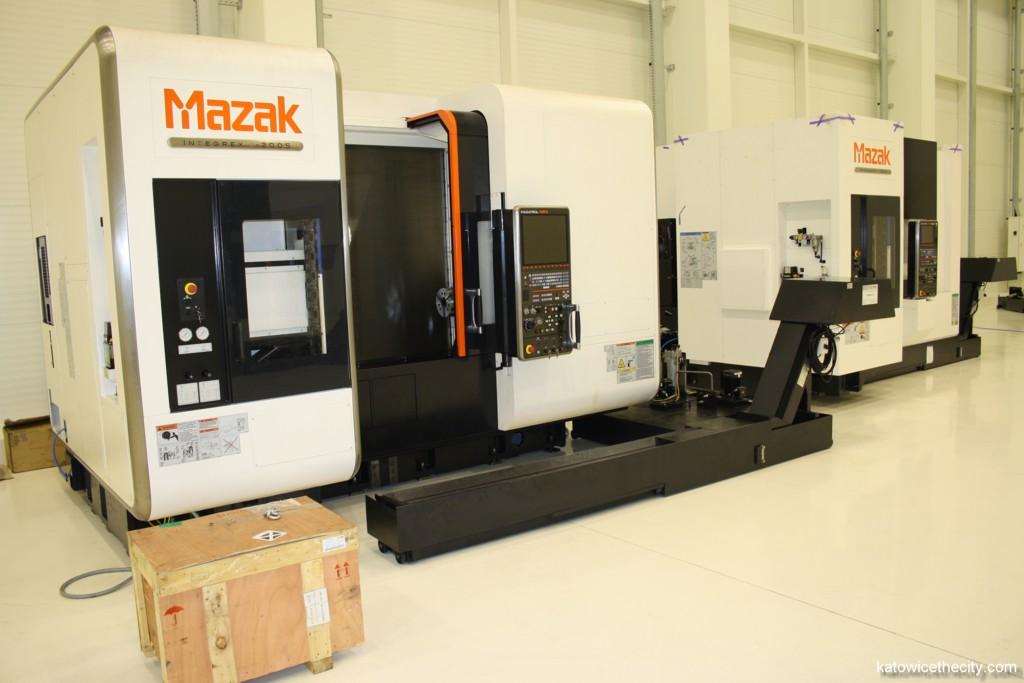 Yamazaki Mazak's Technology Center, exhibition and training hall