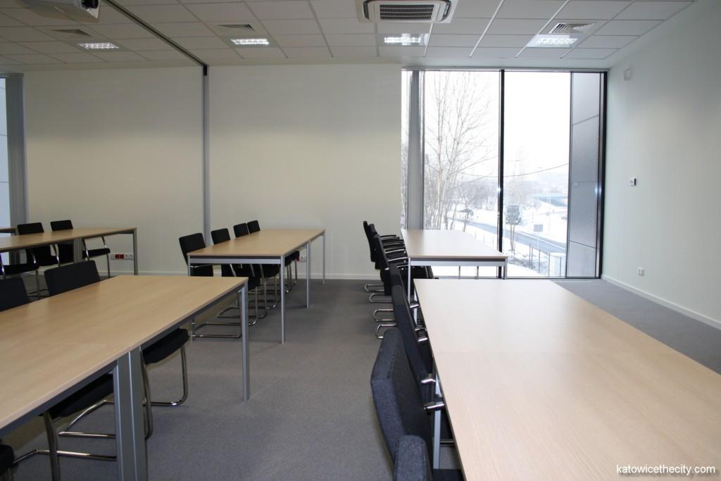 Yamazaki Mazak's Technology Center, conference room