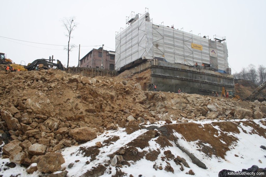 Works on the Silesian Museum