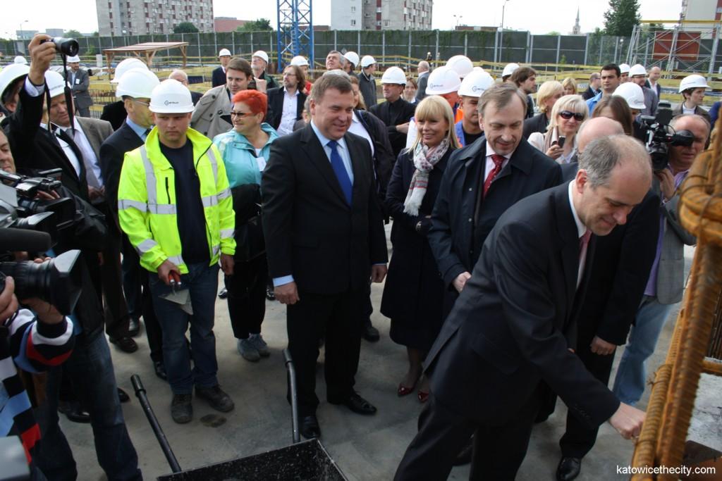 Cornerstone ceremony for the National Polish Radio Symphony Orchestra's new seat