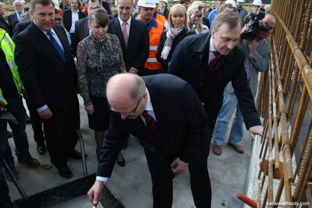 Cornerstone ceremony for the National Polish Radio Symphony Orchestra's new seat