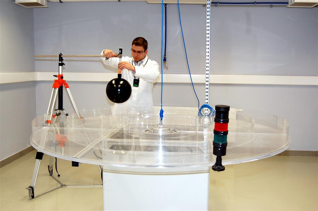 © Central Mining Institute; Laboratory of Radiometry