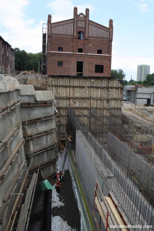 Works on the Silesian Museum's new seat