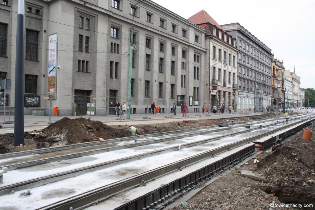 Works on Warszawska St.