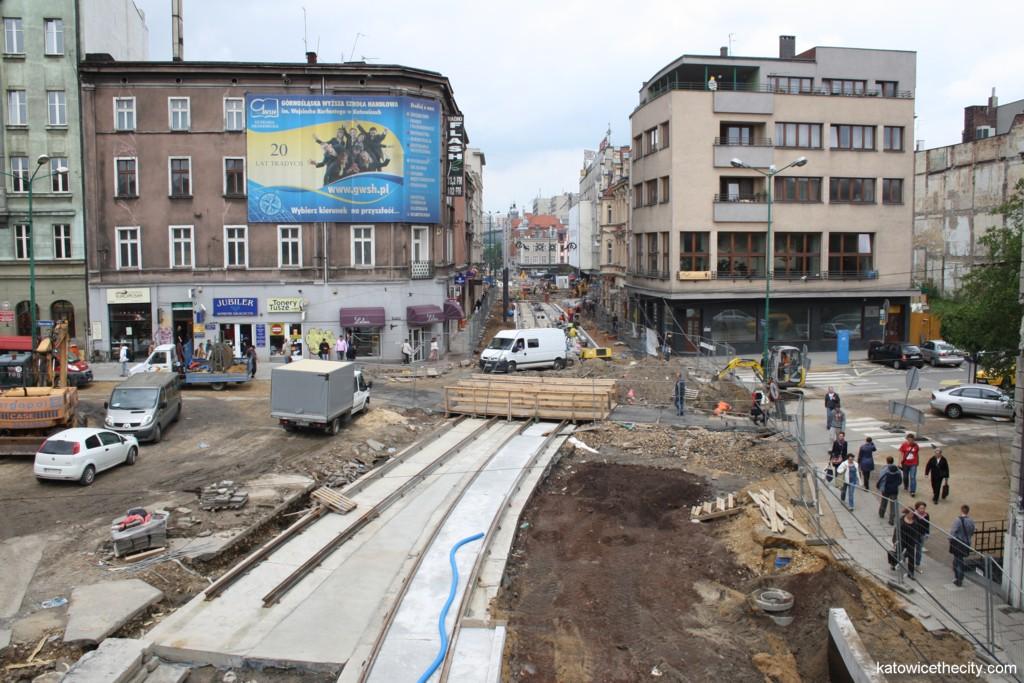 Works on Św. Jana and Kochanowskiego St.