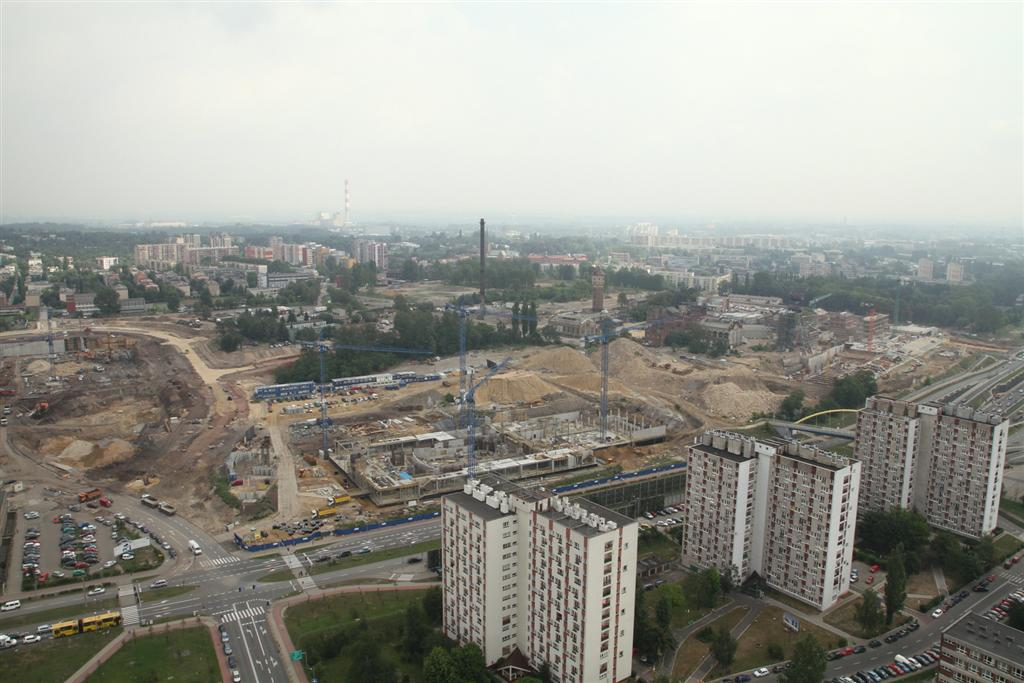 Works on the cultural district, photo by Sławomir Rybok