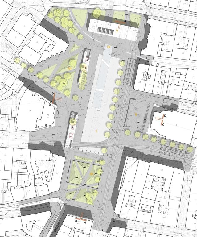 © GPP & EKSPO, II prize in the architectural competition for the new Market Sq.
