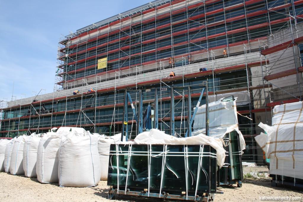 """Works on the former """"Katowickie Centrum Biznesu"""" building"""