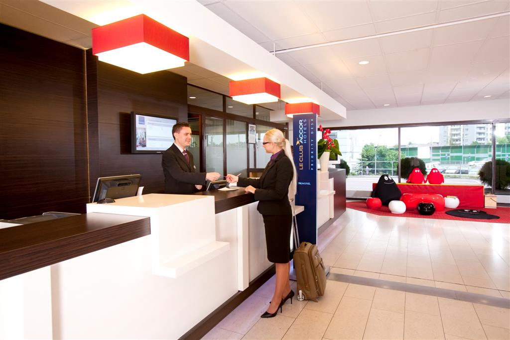 © Orbis Hotel Group; new reception of Novotel Katowice Centrum