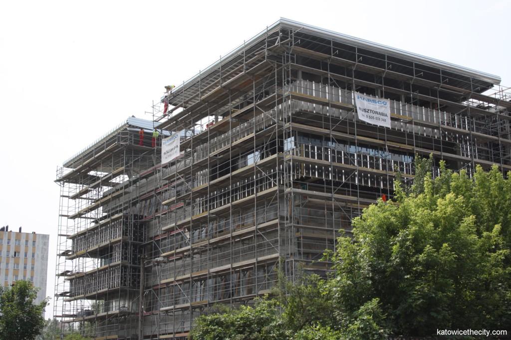 New seat of Polski Koks under construction