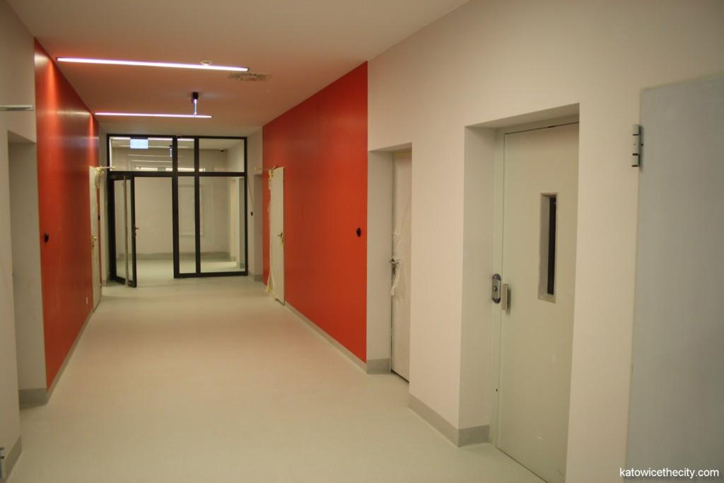 Interior of the sport center