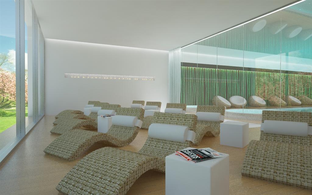© Millenium Inwestycje; Visualisation of the leisure room
