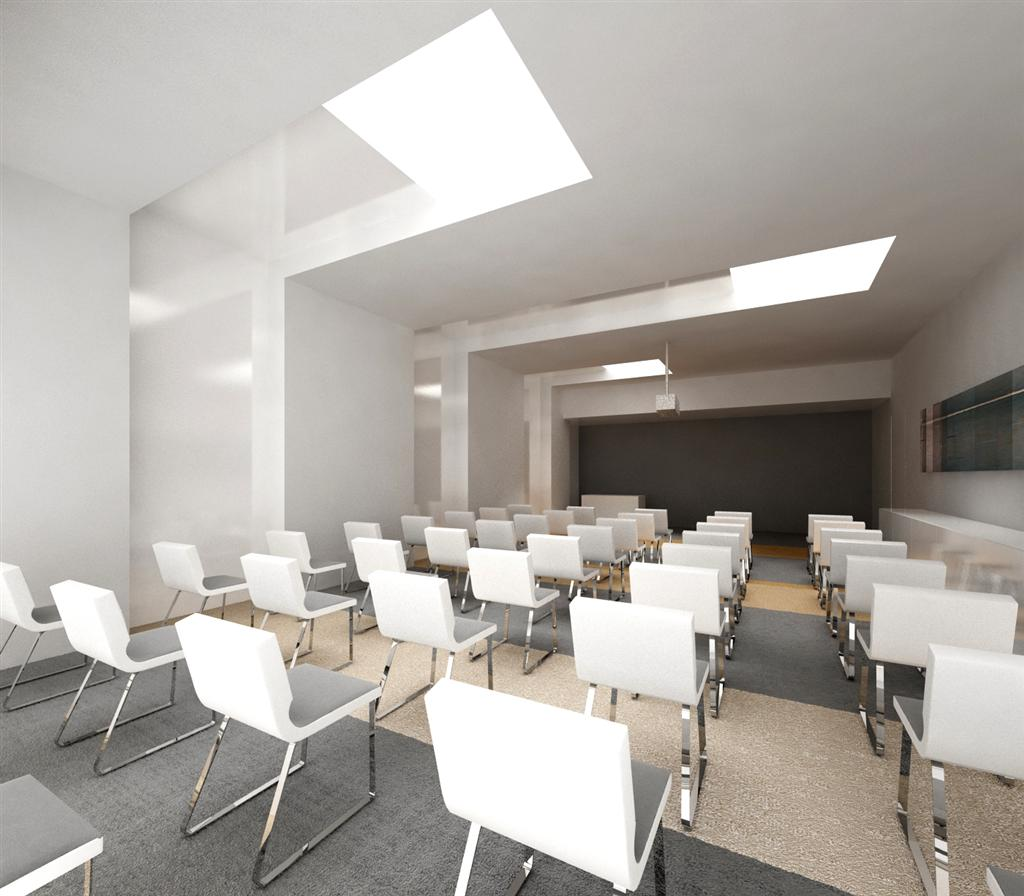 © Millenium Inwestycje; Visualisation of the conference hall