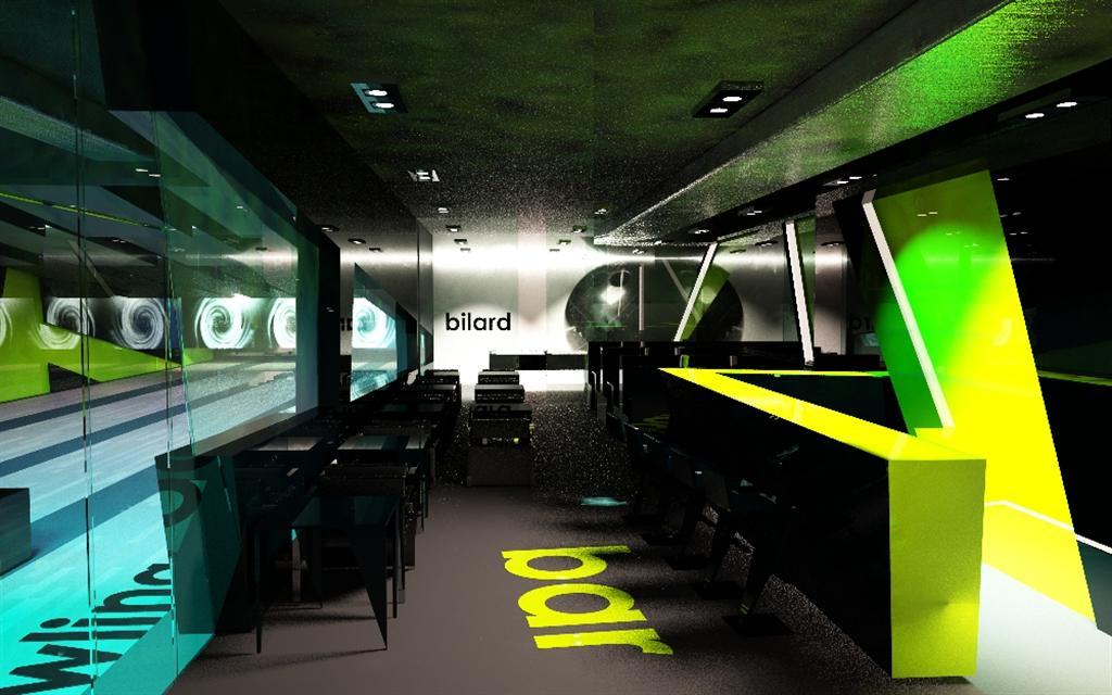 © Millenium Inwestycje; Visualisation of the bowling club