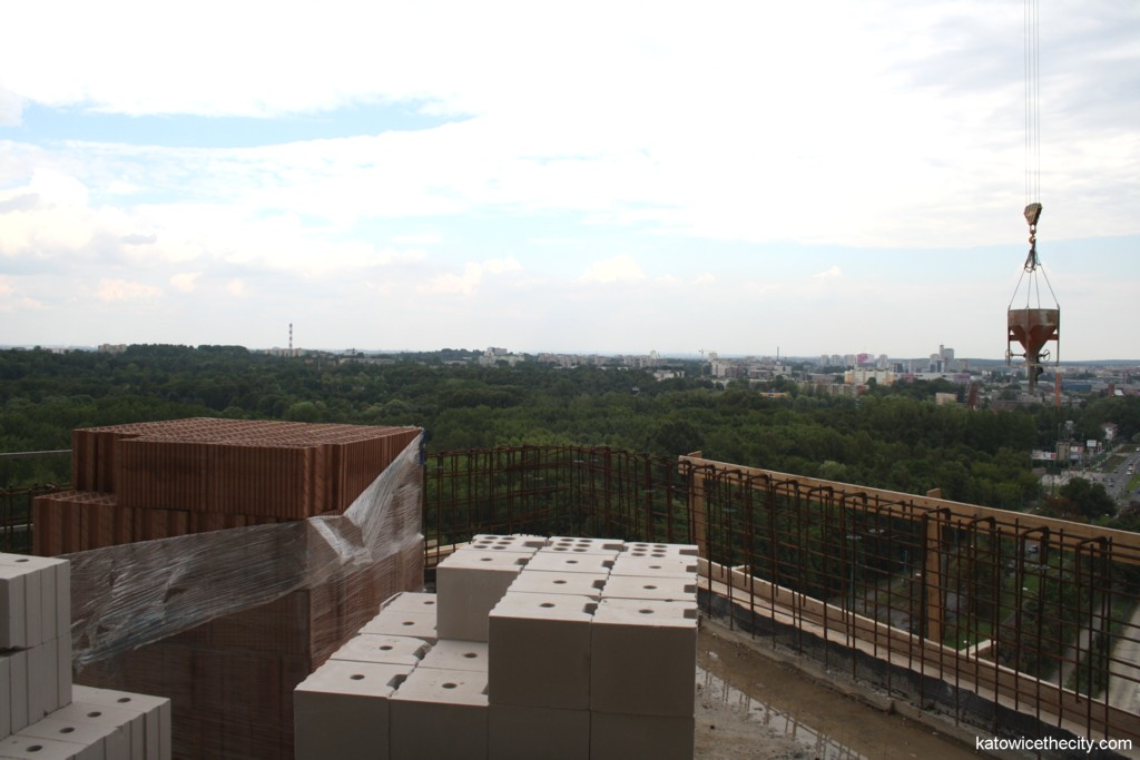View from the terrace of the 12th floor