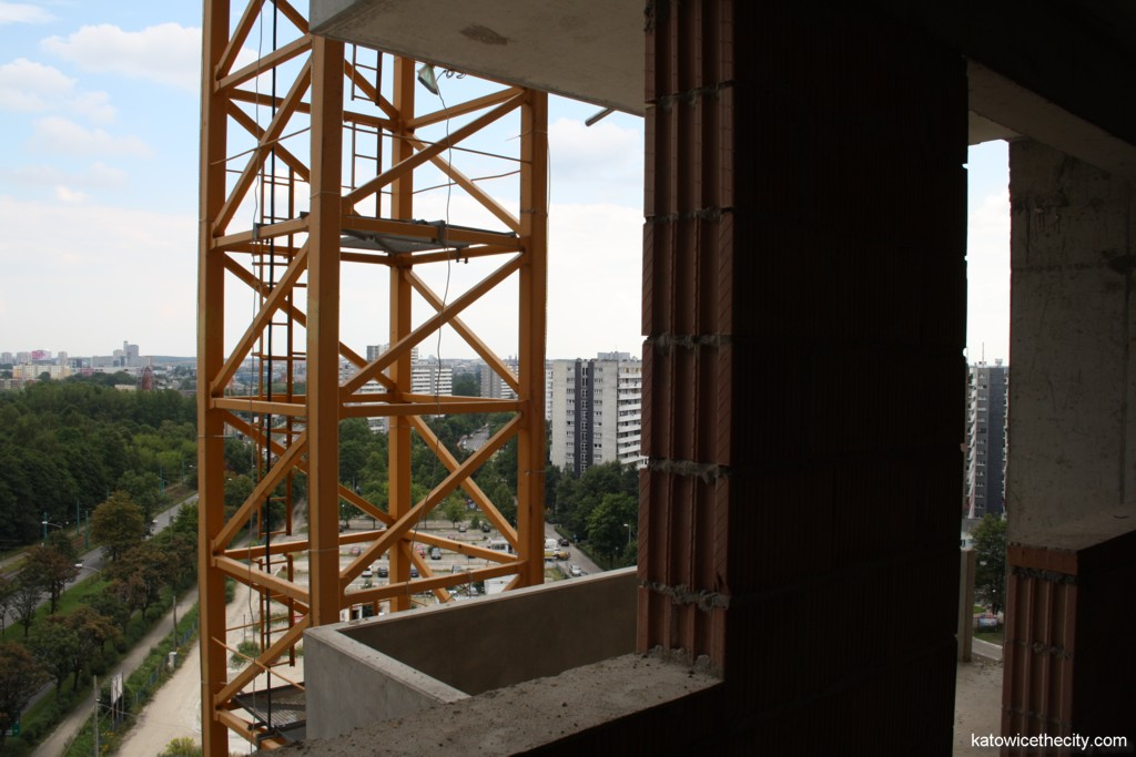 Works on the first of 4 Towers