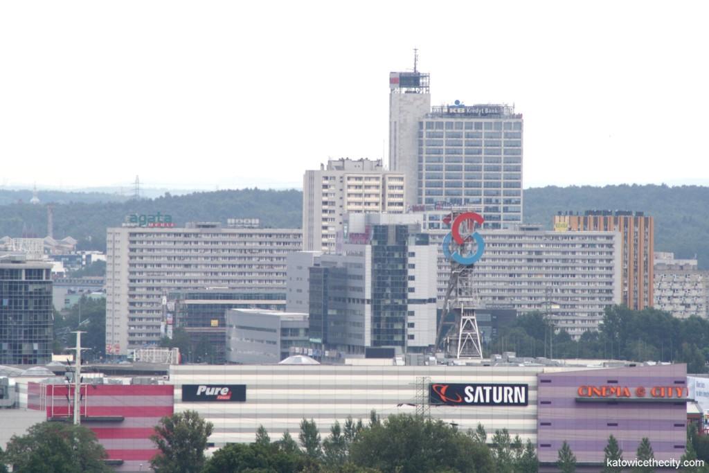 Katowice downtown