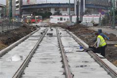 Katowice tram infrastructure under redevelopment
