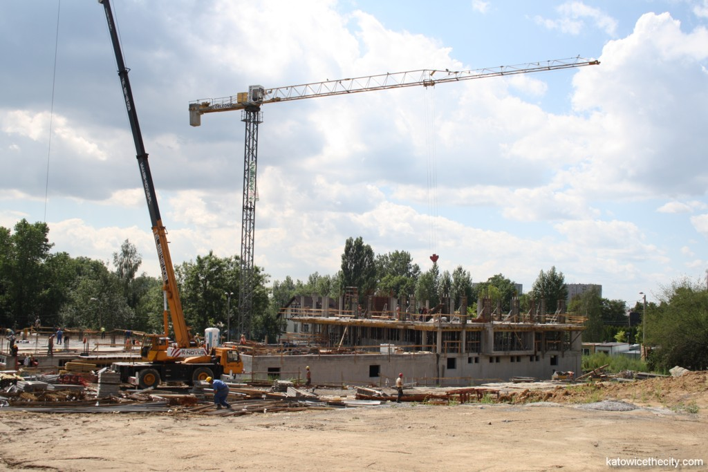 Works on the next stage of Brynów II