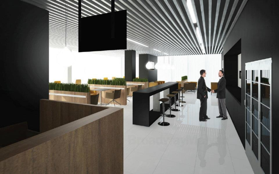 © Katowice International Airport; new business lounge and fast track