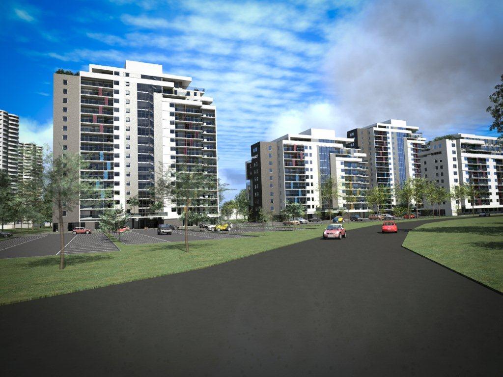 © J.W. Construction; planned housing estate on Tysiąclecia St.