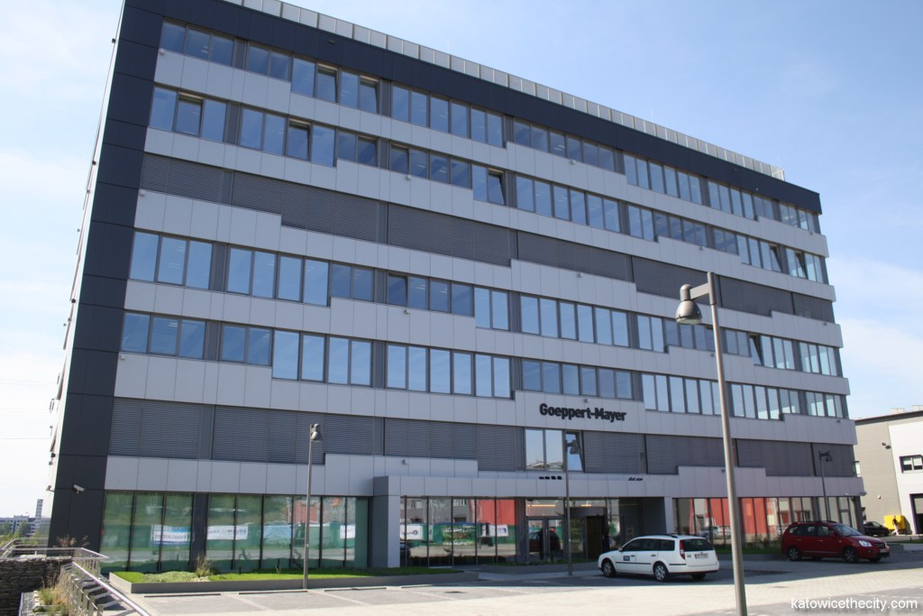 The Goeppert-Mayer building of GPP Business Park