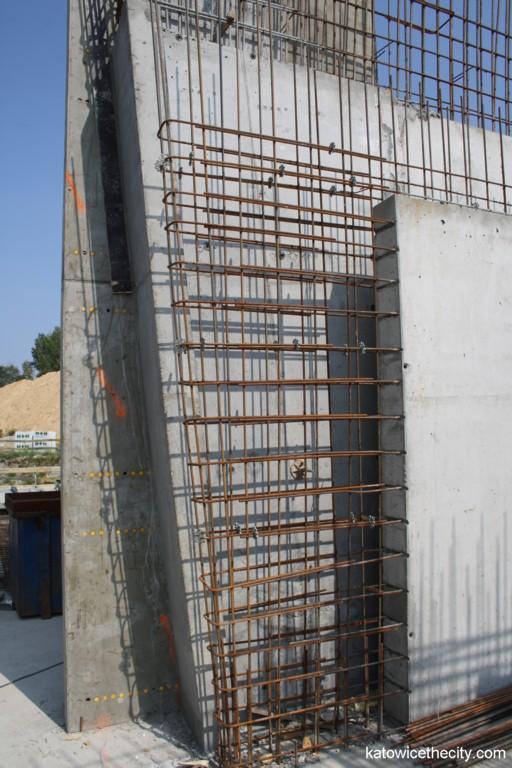 Concrete walls' structure