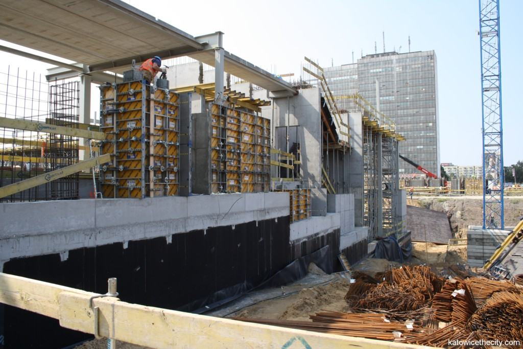 Works on the new seat of the National Polish Radio Symphony Orchestra in Katowice