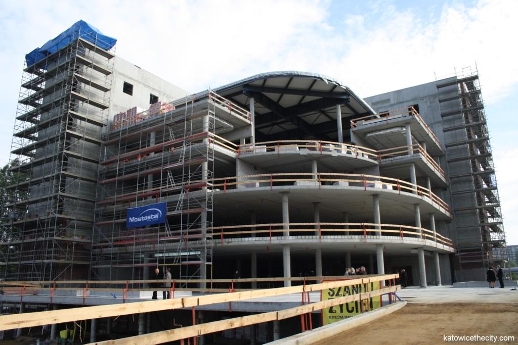 Advanced Information Technology Center under construction