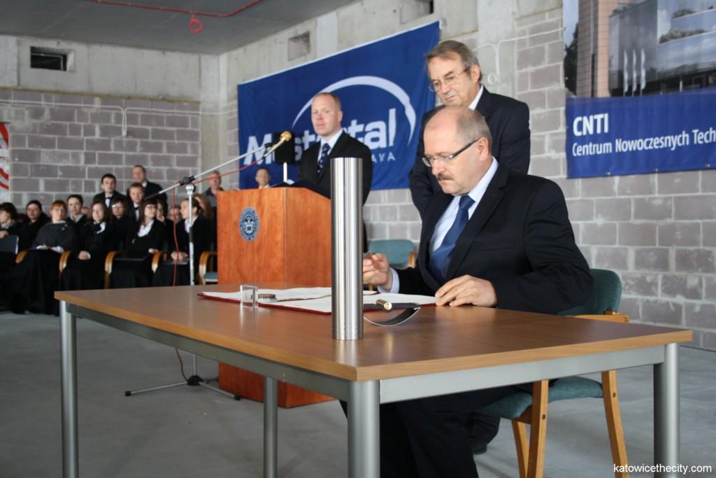 Piotr Uszok, mayor of Katowice