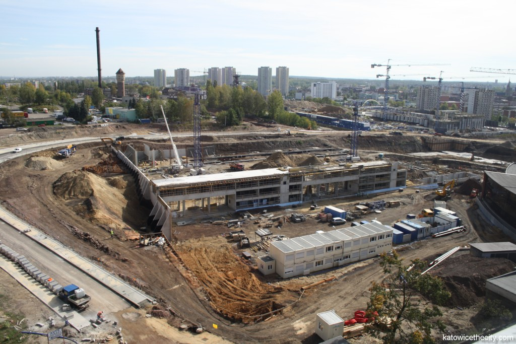 Construction site of the International Convention Center on 4th of October 2012