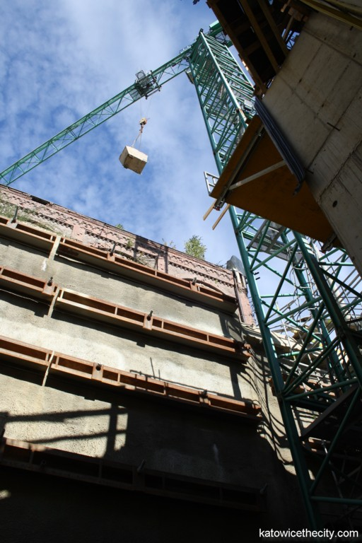 Works on the new seat of the Silesian Museum