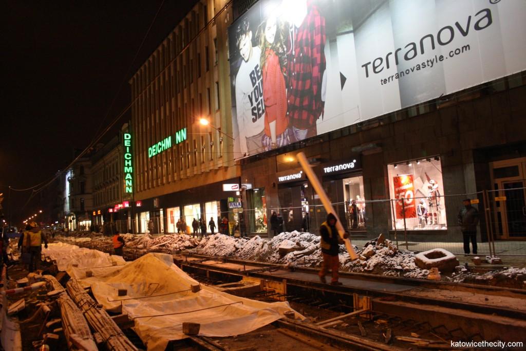 Modernization works on 3 Maja Street