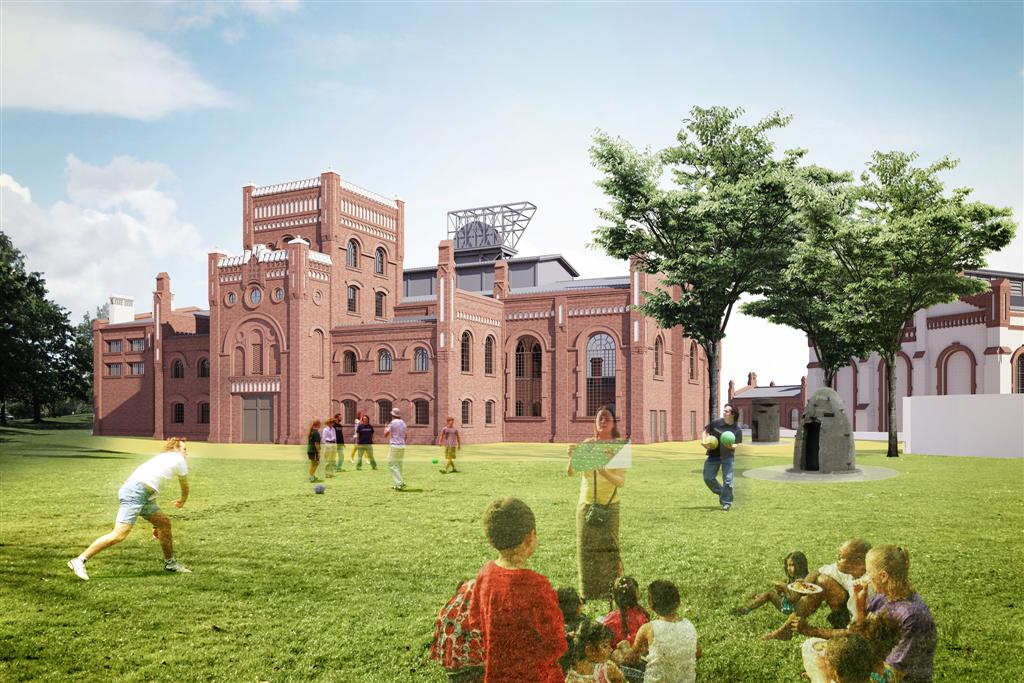 © Silesian Museum; concept design of the new Silesian Museum – stage II