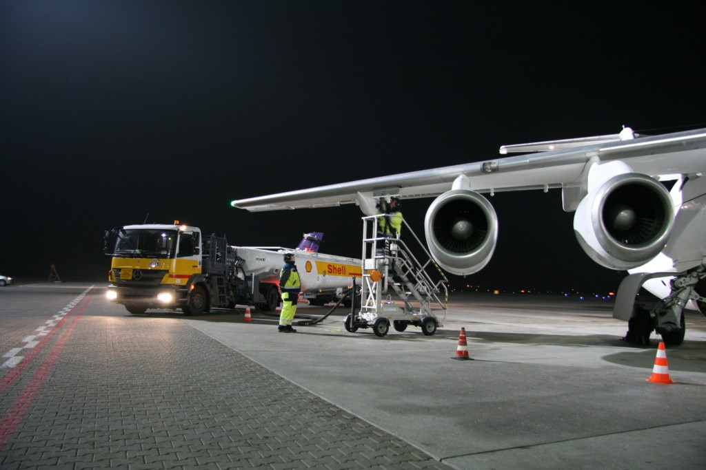 © Shell Aviation; the company started supplying fuels to Katowice International Airport in early January, 2013