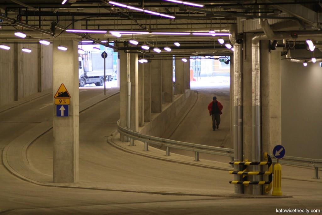 Underground bus station